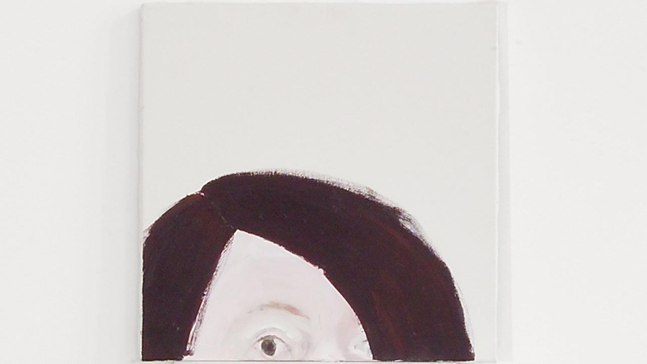 Selbstportrait, Acryl, 2004