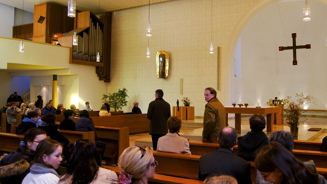 Herz-Jesu-Kirche, Erlangen, Allerheiligen 2011